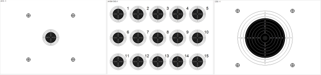 targets for carbine shooting